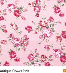 Antique Flower Pink